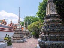 Wat Phra Chetupon Vimolmangklararm Wat Pho temple in Thailand. Royalty Free Stock Images