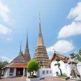 Wat Phra Chetupon Vimolmangklararm Wat Pho temple in Thailand. Stock Image