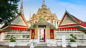 Wat Phra Chetupon Vimolmangklararm (Wat Pho) temple in Thailand. Stock Image