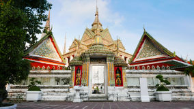 Wat Phra Chetupon Vimolmangklararm Wat Pho temple in Thailand. Stock Photography