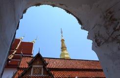 Wat Phra That Cho Hae, Phrae Province, Thailand Stock Photos