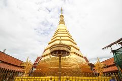 Wat Phra That Cho Hae, Phrae, Thaïlande photos stock