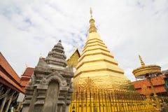 Wat Phra That Cho Hae, Phrae, Thailand royalty-vrije stock foto