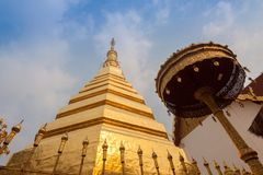 Wat Phra That Cho Hae, Phrae Thailand.  stock image