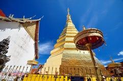 Wat Phra That Cho Hae, Phrae Thailand Lizenzfreie Stockbilder