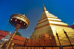Wat Phra That Cho Hae, Phrae Thailand Stockbilder