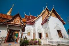 Wat Phra That Cho Hae, Phrae Thailand Lizenzfreies Stockbild