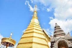 Wat Phra That Cho Hae, Phrae Thailand 1 Lizenzfreie Stockfotos