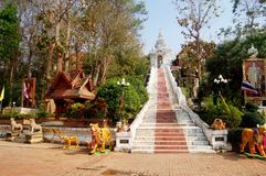 Wat Phra That Cho Hae in Phrae, Thailand Royalty Free Stock Photo
