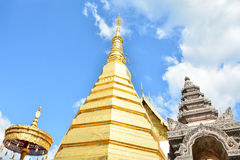 Wat Phra That Cho Hae, Phrae Thailand 1. Wat Phra That Cho Hae old temple Royalty Free Stock Photos