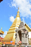 Wat Phra That Cho Hae, Phrae Thailand 2. Wat Phra That Cho Hae old temple Stock Image