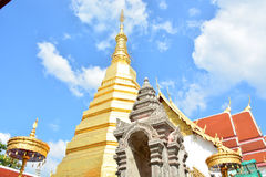 Wat Phra That Cho Hae, Phrae Thailand 4. Wat Phra That Cho Hae old temple Royalty Free Stock Image