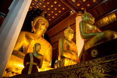 Wat Phra That Cho Hae Temple, Phare, Thailand. Ancient architecture royalty free stock photo