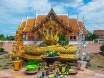 Wat Phra That Choeng Chum Arkivfoto