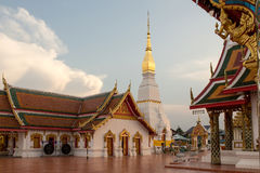 Wat Phra That Choeng Chum Photographie stock