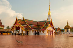 Wat Phra That Choeng Chum Images stock