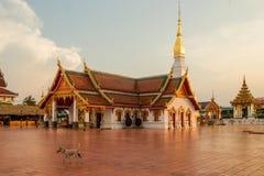 Wat Phra That Choeng Chum Stock Images