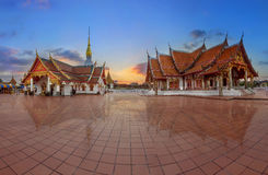 Wat Phra That Choeng Chum,Sakonnakhon,Thailand. Royalty Free Stock Photos