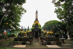 Wat Phra That Chom Chaeng, Phrae, Tailândia Imagem de Stock Royalty Free