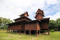 Wat Phra That Chom Chaeng, Phrae, Tailândia Foto de Stock Royalty Free
