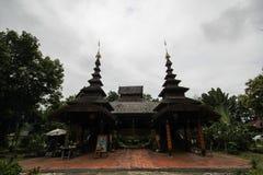Wat Phra That Chom Chaeng, Phrae, Tailandia Fotografie Stock