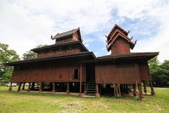 Wat Phra That Chom Chaeng, Phrae, Tailandia Fotografia Stock