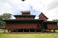Wat Phra That Chom Chaeng, Phrae, Tailandia Fotografia Stock Libera da Diritti