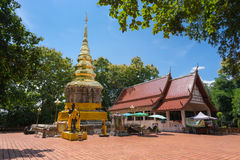 Wat Phra That Chom Kitti Stock Photography