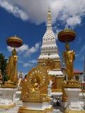 Wat-phra das bei Nakorn Phanom Thailand stockfotografie