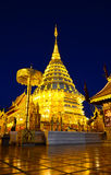 Wat Phra das Doi Suthep, Chiang Mai, Thailand. stockfotos