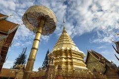 Wat Phra das Doi Suthep, Chiang Mai, Thailand Lizenzfreie Stockbilder