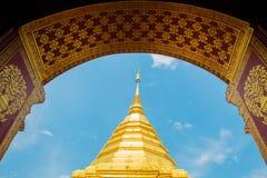 Wat-phra das Doi Suthep, Tempel-Provinz Lizenzfreie Stockfotografie