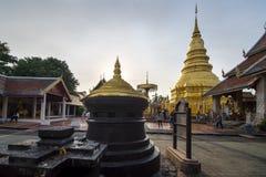 Wat phra das hariphunchai Lizenzfreie Stockfotos