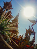 Wat phra das hariphunchai Lizenzfreies Stockbild