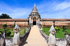 Wat Phra den Lampang Luang. Arkivfoto