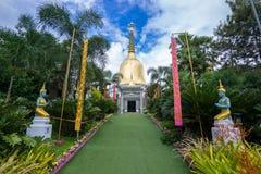 Wat Phra That Dhamma Ratana Chedi Immagini Stock Libere da Diritti