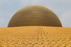 Wat Phra Dhammakaya 曼谷泰国 图库摄影