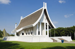 Wat Phra Dhammakaya Stock Foto's