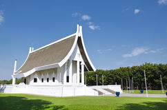 Wat Phra Dhammakaya Royalty-vrije Stock Foto's