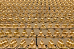 Wat Phra Dhammakaya bangkok Таиланд Стоковое Изображение