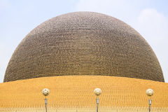 Wat Phra Dhammakaya  is a Buddhist temple in Bangkok, Thailand Stock Photography