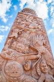 Wat Phra Dhat Phasornkaew Arkivbilder