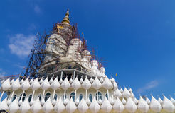Wat Phra Dhat Phasornkaew at Phetchaboon ,Thailand Royalty Free Stock Photography