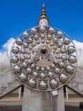Wat Phra Dhat Phasornkaew in Phu tup berk Royalty-vrije Stock Foto's