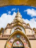 Wat Phra Dhat Phasornkaew at Phu tup berk Royalty Free Stock Photography