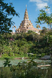 Wat Phra Dhat Phasornkaew w Tajlandia Zdjęcie Stock