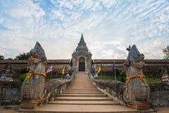 Wat Phra die de tempel van Lampang Luang Stock Foto