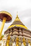 Wat Phra die de tempel van Lampang Luang Stock Afbeeldingen