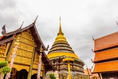 Wat Phra die de tempel van Lampang Luang Stock Foto's