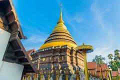 Wat Phra die de tempel van Lampang Luang Stock Afbeelding